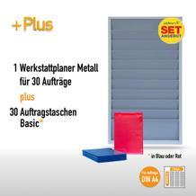 Plantafel-Set (1 Plantafel + 30 Auftragstaschen) für DIN A4