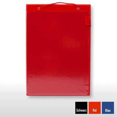 """Auftragstasche """"Basic"""" für DIN A4 Aufträge, Rot"""