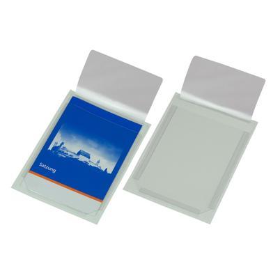 Selbstklebe Dehnfaltentasche aus PVC-Folie, (für DIN A4)