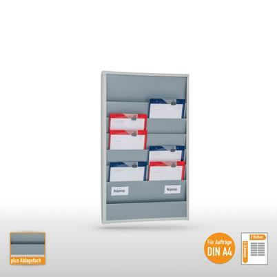 Plantafel für bis zu 12 DIN A4 Aufträge und Belege