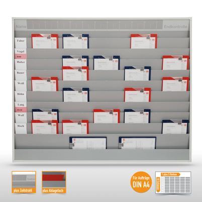Werkstattplaner groß mit Zeitstrahl (bis zu 50 x DIN A4)