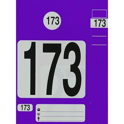 """Kennzeichnungs-System 4 in 1 """"Leitzahl"""""""