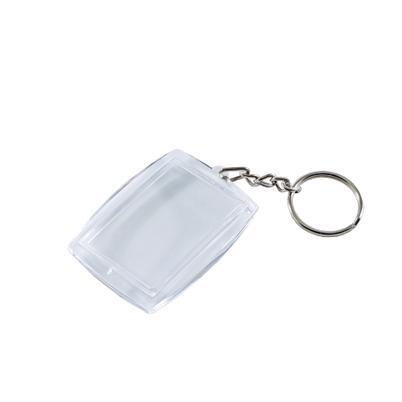 50 x Acryl Foto Anhänger Schlüsselanhänger mit Schlüsselring für Foto /& Passbild