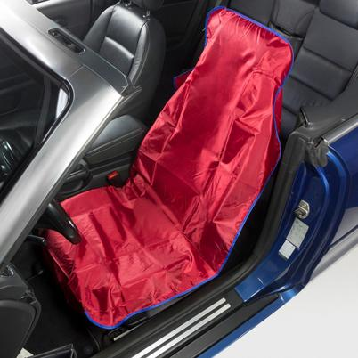 Wiederverwendbare-Sitzschoner aus Nylon für PKW - Rot