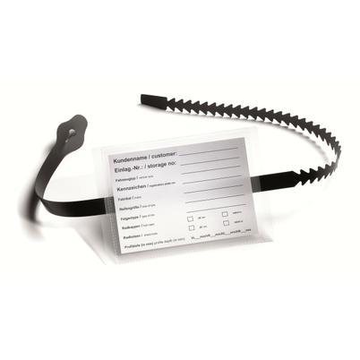 Kennzeichnungs- und Preisetiketten mit Rasterschlaufe
