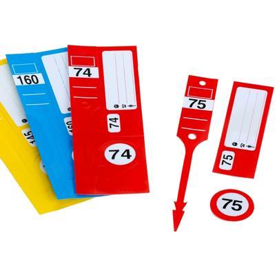"""Kennzeichnungs-System 3 in 1 """"Leitzahl"""""""