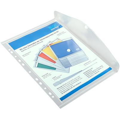 Dokumententasche mit Abheftrand DIN A4 (VE mit 10 Stück)