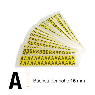 Kombipackung selbstklebende Buchstaben A-Z