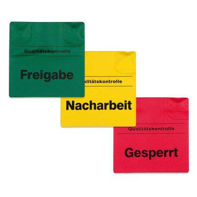 Magnetische Kennzeichnungspads, beidseitig bedruckt