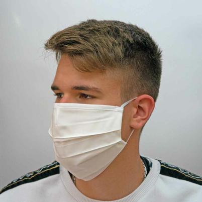 Mund- und Nasenschutz aus Baumwolle - waschbar