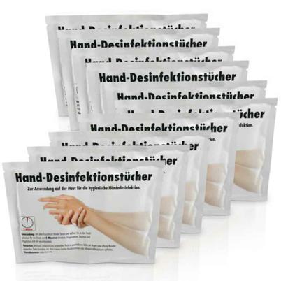 Hand-Desinfektionstücher - XXL-Format - universell einsetzbar