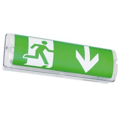Sicherheits- Rettungszeichenleuchte (Standard) inkl. 3 Piktogramme