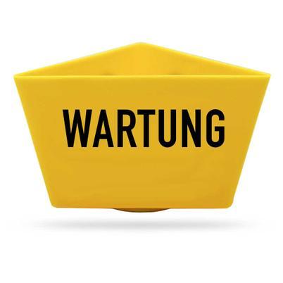 """Magnet-Kennzeichnungsträger """"WARTUNG"""""""