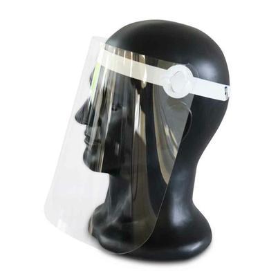 Gesichtsvisier - großflächige Abdeckung - glasklar