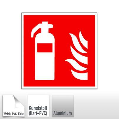 Brandschutzschild Feuerlöscher