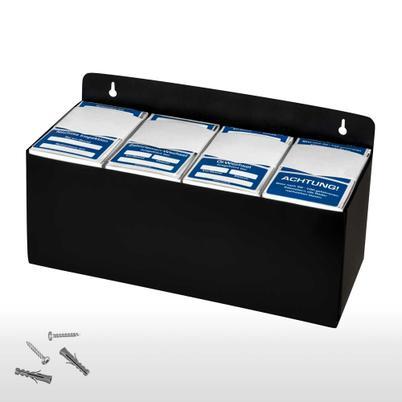 Kundendienst-Aufkleber 4er Set in Spenderbox