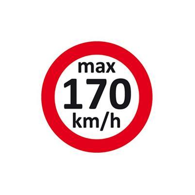 Geschwindigkeitsaufkleber 170 km/h