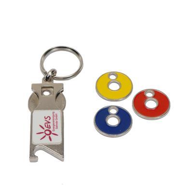 """Schlüsselanhänger """"Kombi"""" aus Metall"""