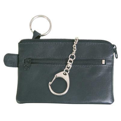 """Schlüsseltasche """"Classic"""" schwarz aus Leder"""
