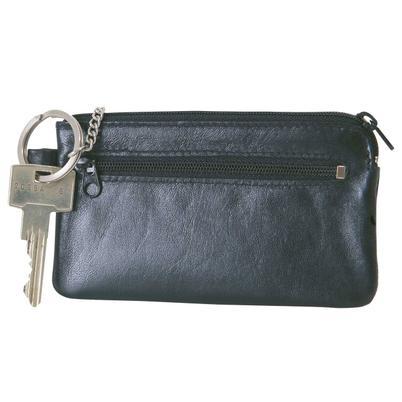 """Schlüsseltasche """"Super Key"""" schwarz aus Leder"""