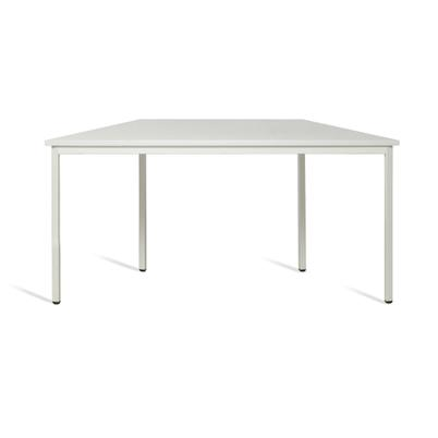 Trapez-Tisch - 3 Größen - kombinierbar - Lichtgrau