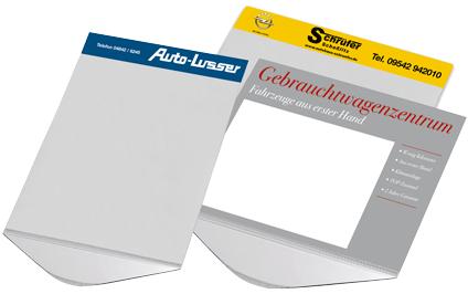 Preisblatthalter DIN A4 und DIN A3